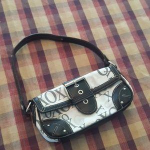 XOXO Mini handbag black and white purse